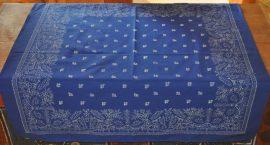 Kékfestő terítő (90x90) 4402