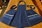 Kékfestő kötény 4416